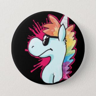 Botón del agente del unicornio