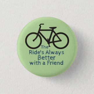 Botón del amigo de la bicicleta