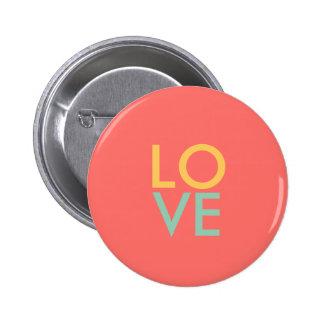 Botón del amor