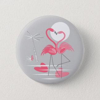 Botón del amor del flamenco