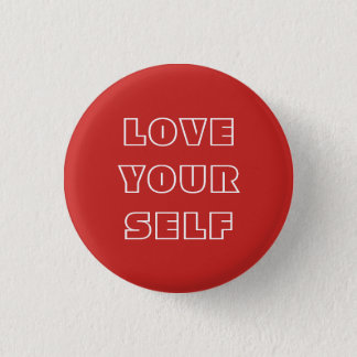 Botón del amor usted mismo