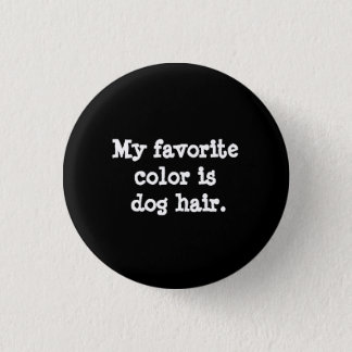 Botón del aprecio del pelo de perro