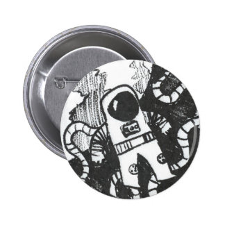 Botón del astronauta pins