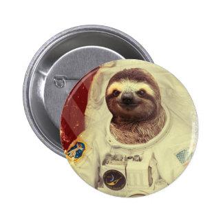 Botón del astronauta de la pereza