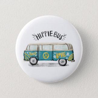 Botón del autobús del Hippie