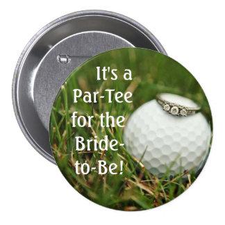 botón del bachelorette del golf