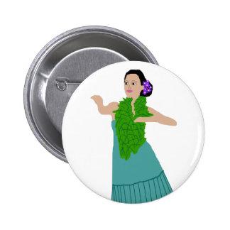 Botón del bailarín de Awana Hula (moderno)