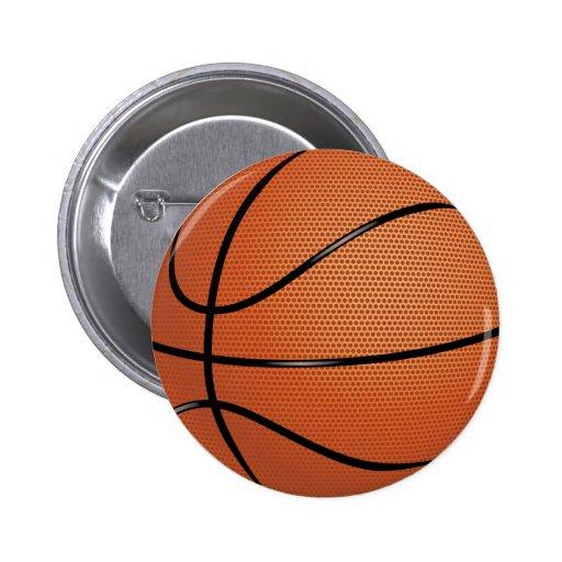 Botón del baloncesto pins