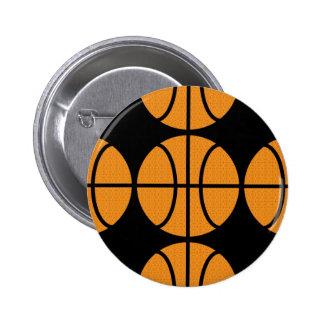 Botón del baloncesto del vector pins
