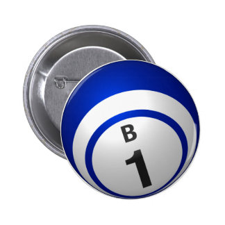Botón del bingo de B 1