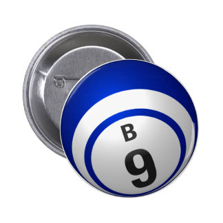 Botón del bingo de B 9 Pin