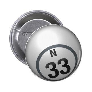 Botón del bingo de N 33