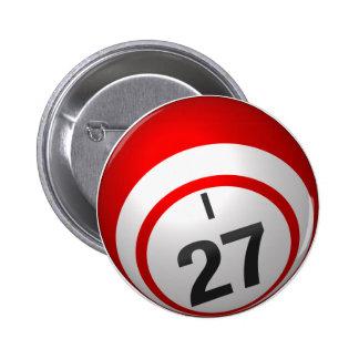 Botón del bingo I 27