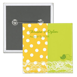 Botón del boda del cordón del libro de recuerdos