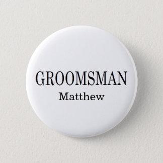 Botón del boda del padrino de boda
