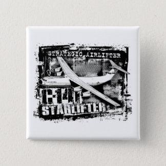 Botón del botón de C-141 Starlifter