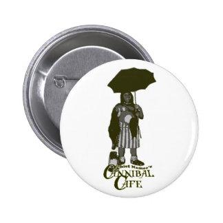 Botón del café del caníbal de principal Namee Pin
