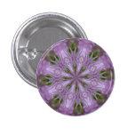 Botón del chapoteo de la lavanda pin