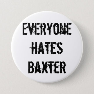 Botón del club de fans de Baxter