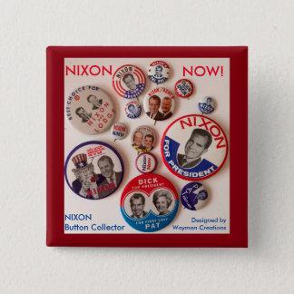 Botón del colector del botón de Nixon