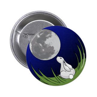 Botón del conejito de la luna