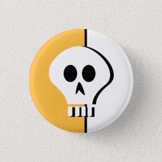 Botón del cráneo de Halloween