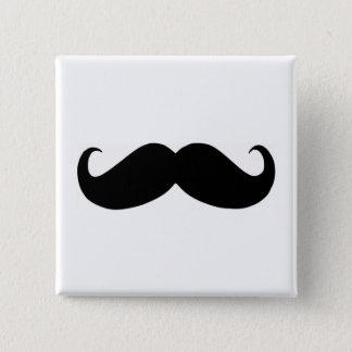 Botón del cuadrado del bigote del inconformista