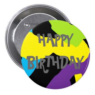 Botón del cumpleaños pin