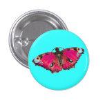 Botón del ~ de Mariposa Pin