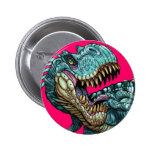 Botón del dinosaurio pin