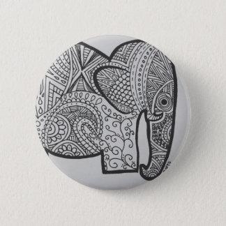 Botón del Doodle del elefante