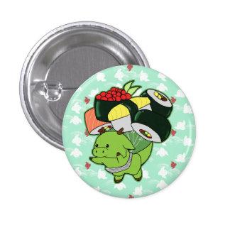 Botón del dragón del sushi del vuelo