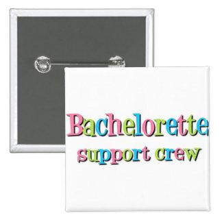 Botón del equipo de la ayuda de Bachelorette Pins