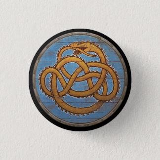 Botón del escudo de Viking - Jörmungandr