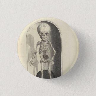 Botón del esqueleto del vintage
