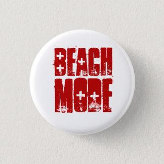 Botón del estilo de la playa del modo de la playa