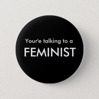 Botón del Favorable-Feminismo