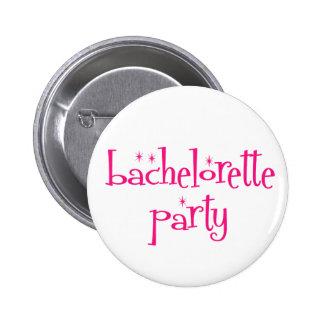 Botón del fiesta de Bachelorette Pin