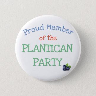 Botón del fiesta de Plantican