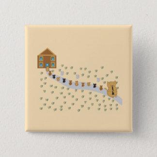 Botón del gaitero del gato