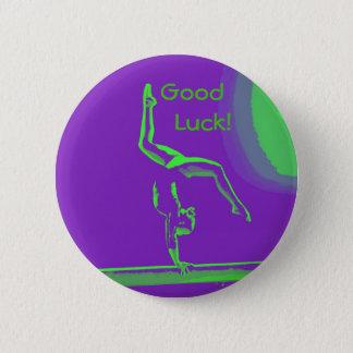 Botón del gimnasta de la buena suerte
