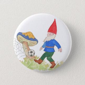 Botón del gnomo del fútbol