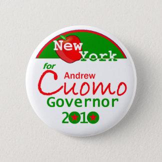 Botón del gobernador de CUOMO