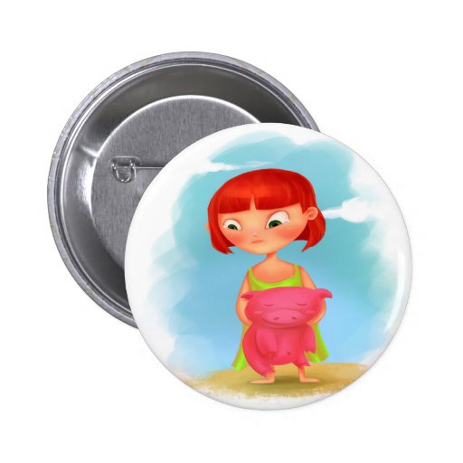 botón del gorjeo pin