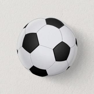 Botón del ilustracion del fútbol del balón de