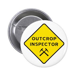 Botón del inspector del afloramiento