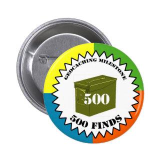 Botón del jalón de 500 hallazgos
