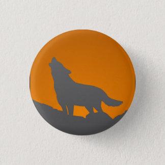 Botón del lobo del grito