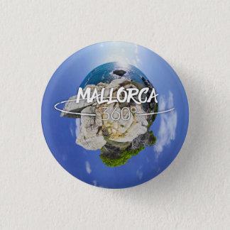Botón del logotipo del cielo del Sa Roqueta de