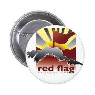 Botón del logotipo del © de las producciones de la pin